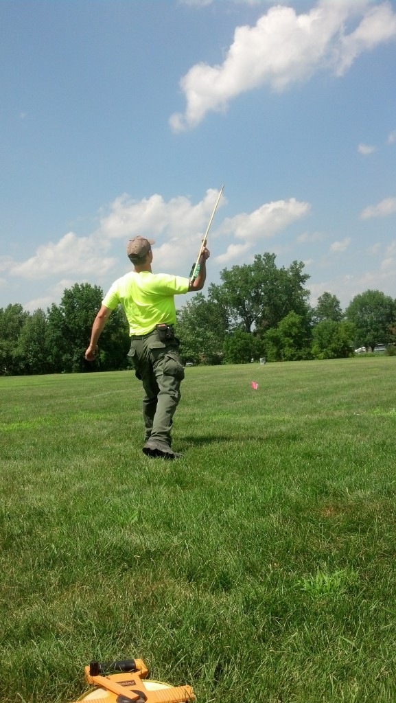 Atlatl Throwing & Experiment